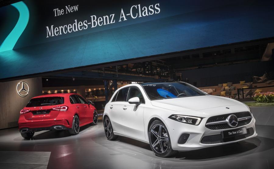 Mercedes klasy A nowej generacji