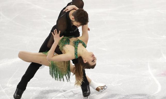 Łyżwiarka figurowa na igrzyskach w Pjongczang zaświeciła nagą piersią [FOTO]