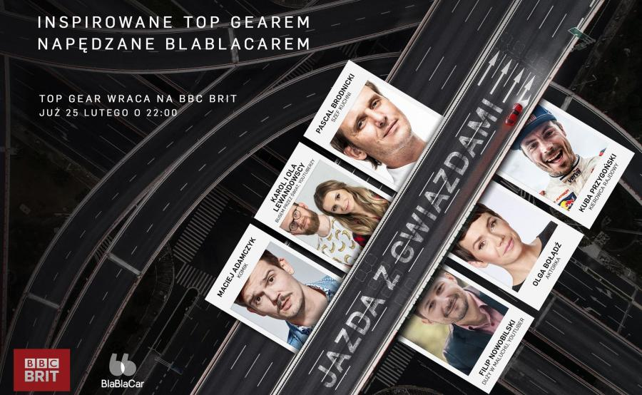 Z okazji premiery Top Gear 25 rusz w trasę z BBC Brit i Kubą Przygońskim, Pascalem Brodnickim, Olgą Bołądź i nie tylko