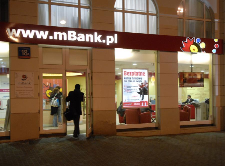 Nadzór bankowy skontroluje umowy mBanku