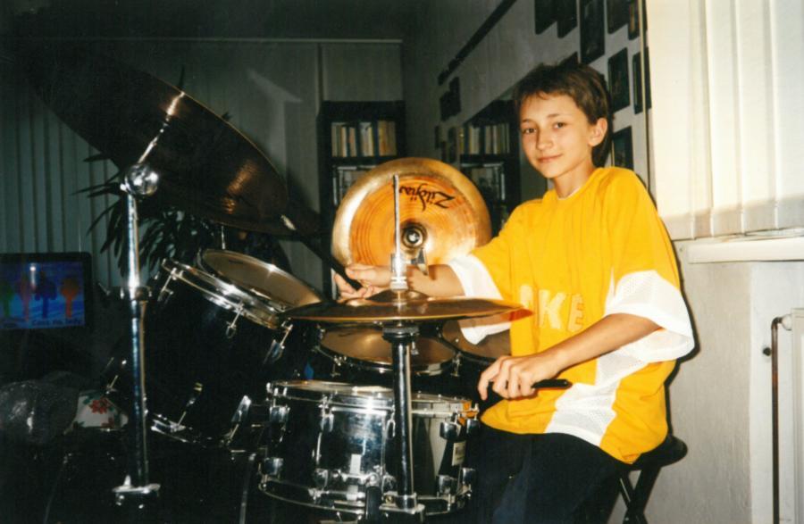 Darek Wieteska w latach 90-tych