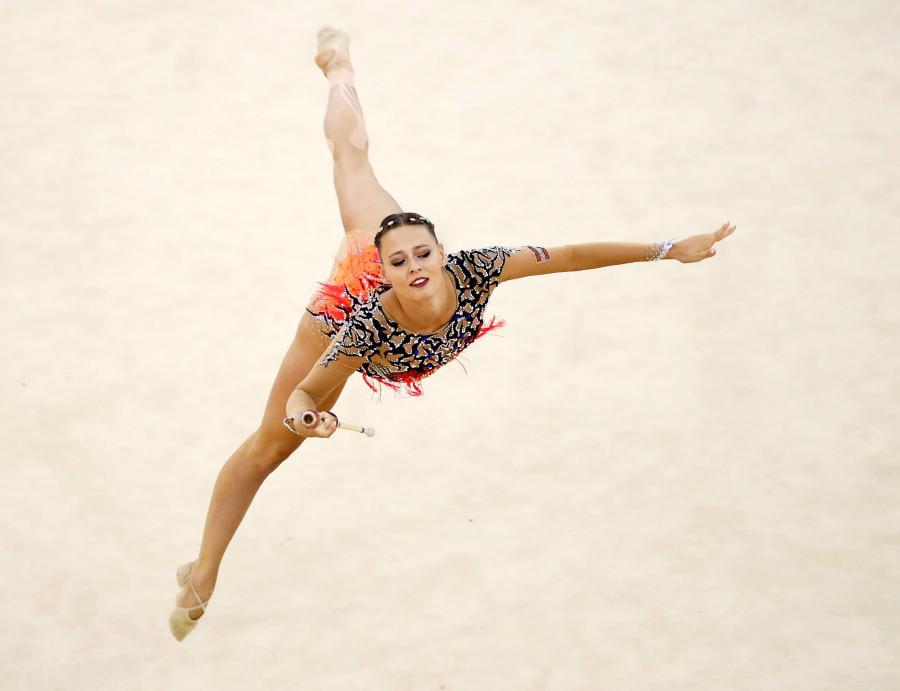 Gimnastyczki rywalizują o medale ME. W Guadalajarze jest efektownie i pięknie