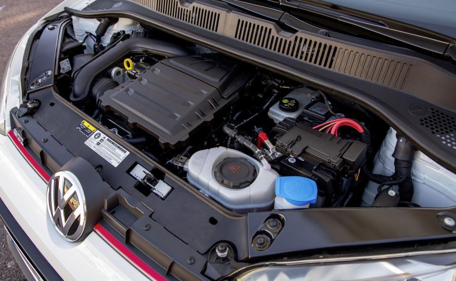 Volkswagen up! GTI. Litrowy silnik VW stając na najwyższym podium pokonał konkurencyjne propozycje Forda, BMW, Hondy, Renault/Nissan oraz General Motors (Opel)