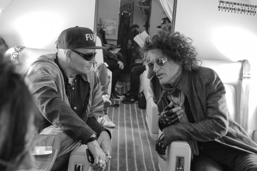 Johnny Depp i Joe Perry