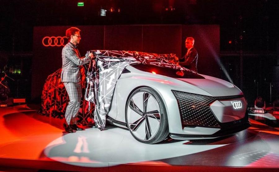 Audi Aicon było gwiazdą specjalnego pokazu w Poznaniu