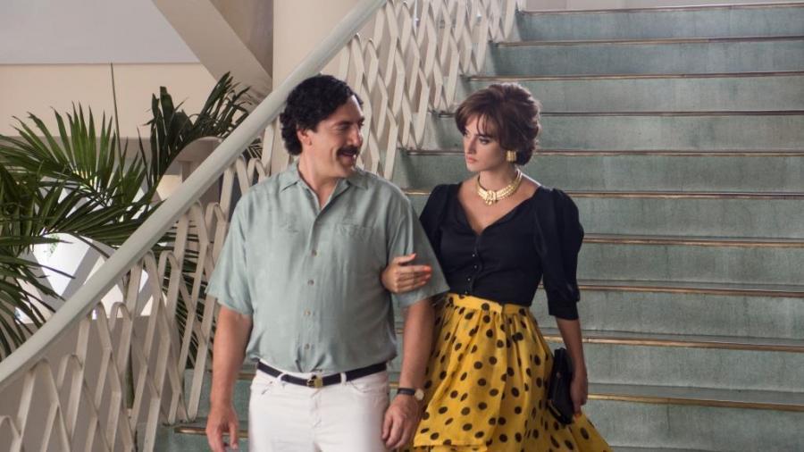 Penélope Cruz i Javier Bardem w filmie \