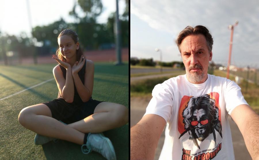 Zdjęcia wykonane Asusem Zenfone 5 - tryb portretowy