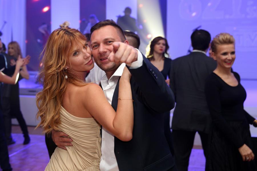 Jakub Kwiatkowski i Agata Załęcka