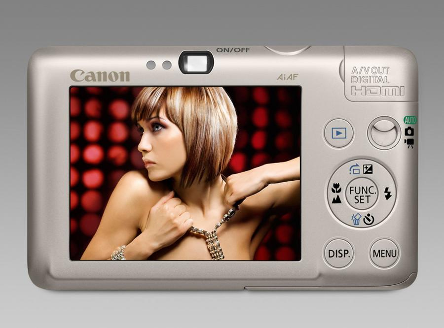 Nowe Canony Ixus 100 IS