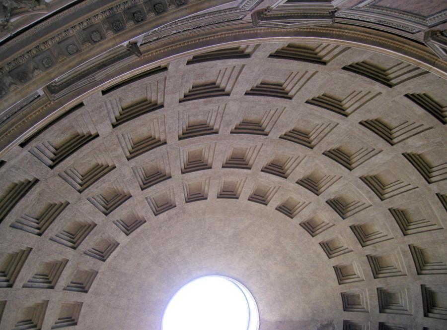 Panteon był zegarem słonecznym
