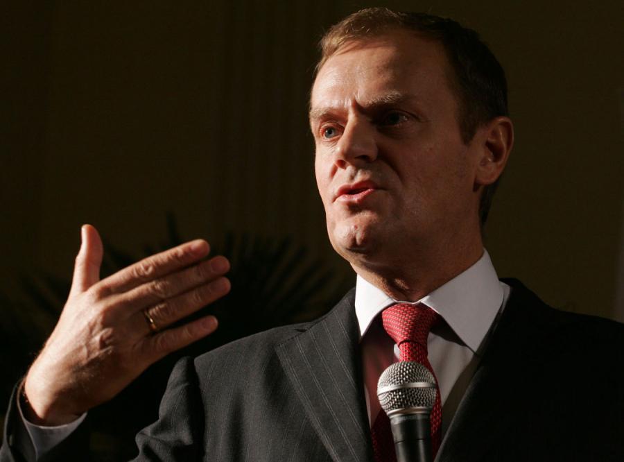 Tusk broni Marcinkiewicza