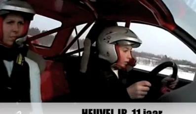 Zobacz wyczyny dziecka za kierownicą!