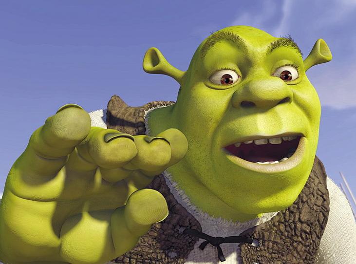 Ty, Shrek, ale narabiałeś!