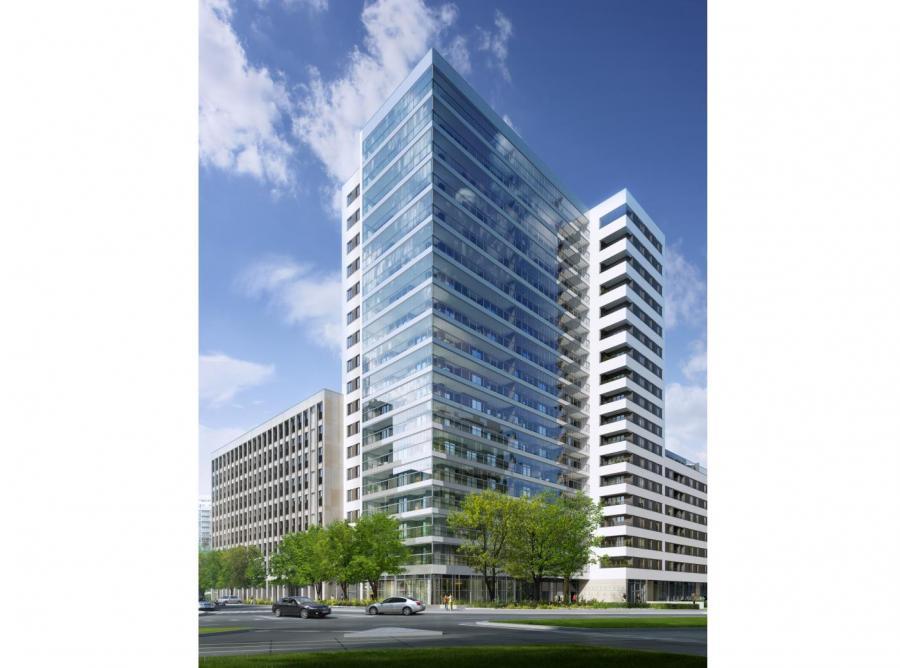 Zwieńczeniem kompleksu będzie 17-piętrowa wieża