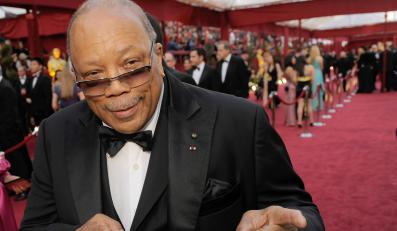 Legendarny Quincy Jones