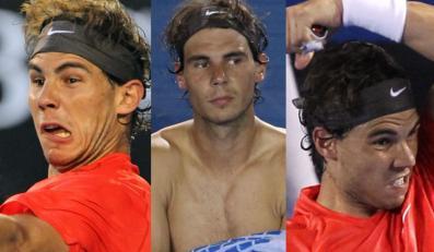 Rafael Nadal. Występ w Melbourne zakończył na ćwierćfinale