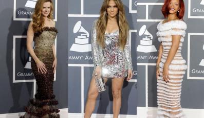 Kreacje gwiazd na rozdaniu Grammy 2011