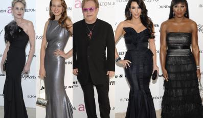 U Eltona na pooscarowej imprezie