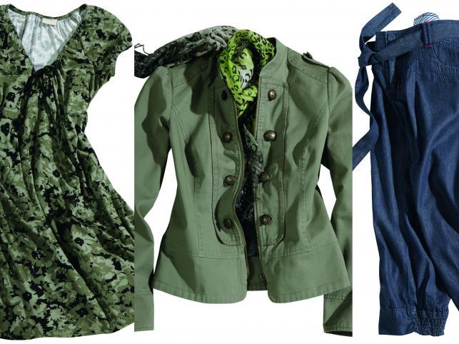 Militarne trendy na wiosnę