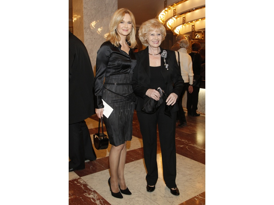 Krystyna Loska i Grażyna Torbicka - piękne matka i córka