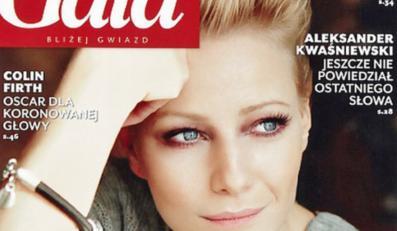 Małgorzata Kożuchowska na okładce tygodnika Gala