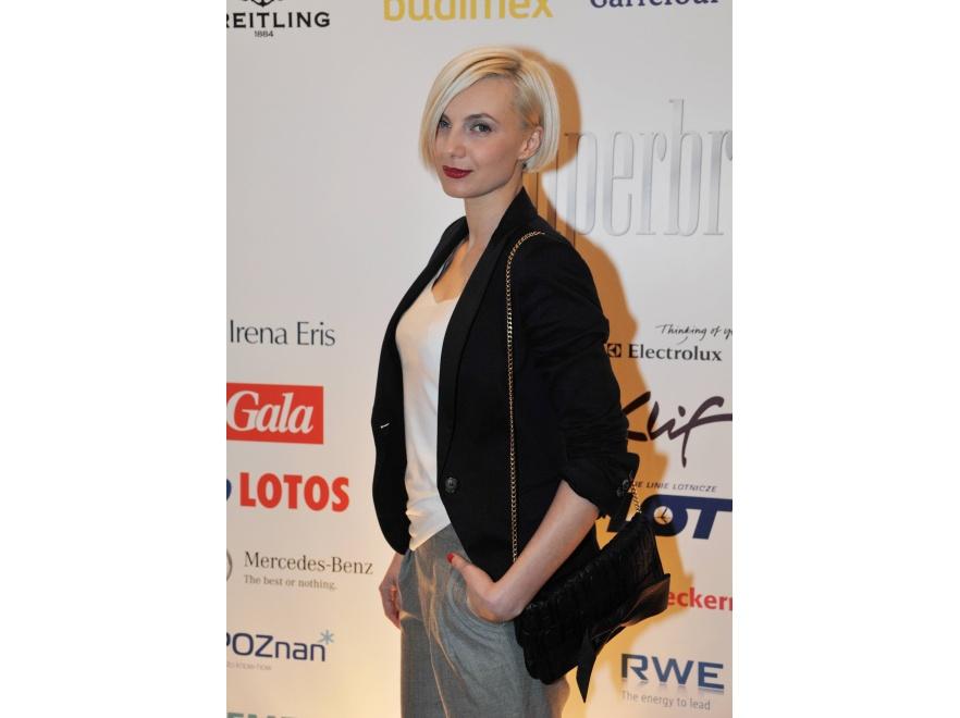 Sylwia Gliwa na wieczorze wręczenia nagród Superbrands