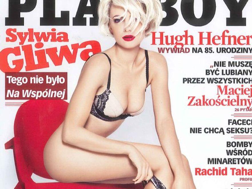 Sylwia Gliwa dała się skusić Playboyowi\