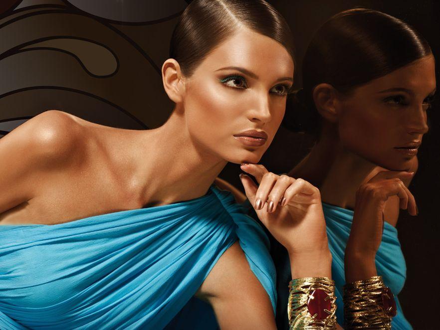 Błyśnij brązem i błękitem: letni makijaż od Artdeco