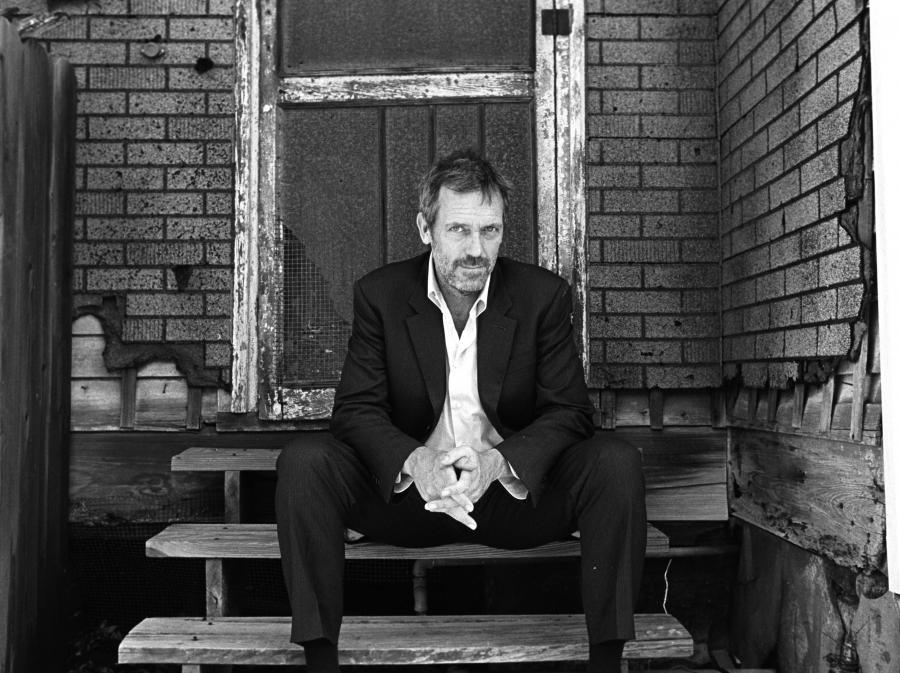 Hugh Laurie już nie tylko z płyty