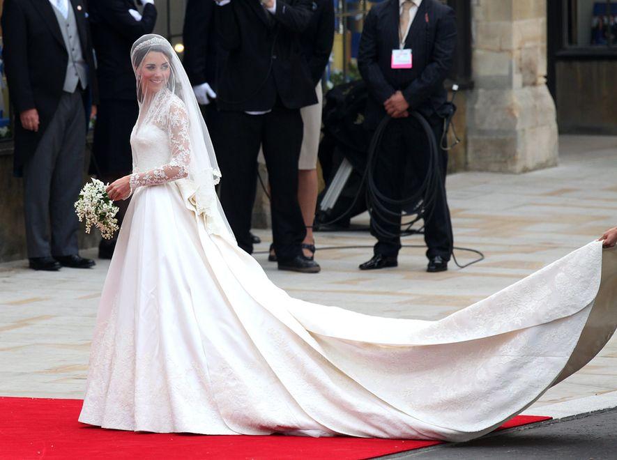 Kate Middleton w drodze do Opactwa Westminsterskiego