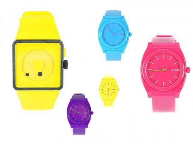Czas na kolorowe zegarki!