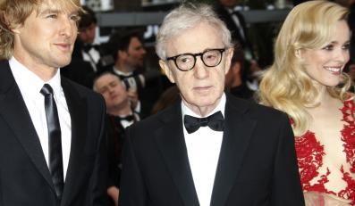 Rachel McAdams, Woody Allen i Owen Wilson w Cannes