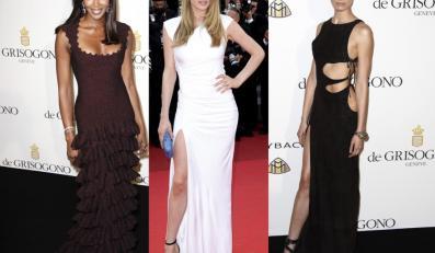 Najgorętsze ciała czerwonego dywanu - supermodelki na festiwalu Cannes 2011
