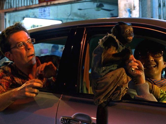 Ed Helms na kacu w Bangkoku