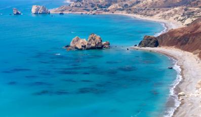 Plaża na Cyprze