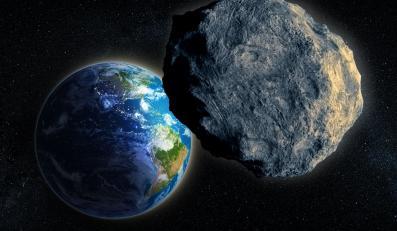 Planetoida tuż nad Ziemią