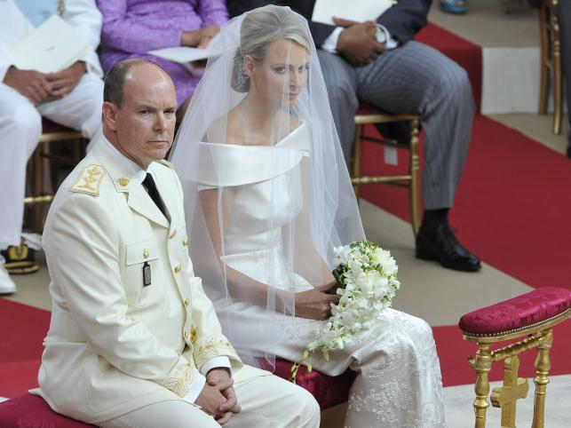 Książę Albert II i Charlene Wittstock