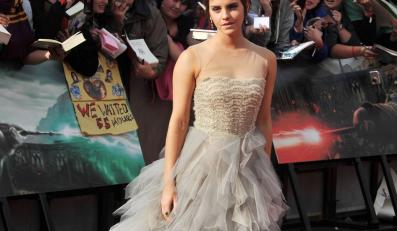 Emma Watson na londyńkiej prapremierze