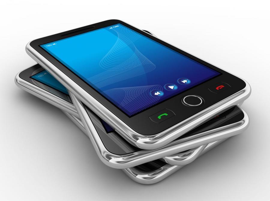 Stos smartfonów