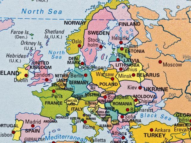 PANSTWA I STOLICE EUROPY EBOOK