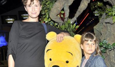Monika Mrozowska z córką