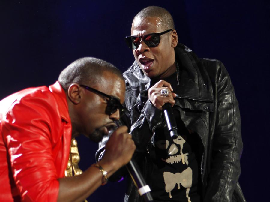 Jay-Z i Kanye West w akcji