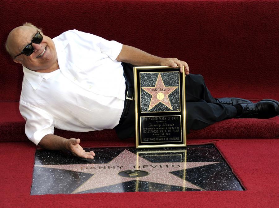 Danny De Vito i jego gwiazda numer 2445