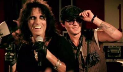 Alice Cooper i Johnny Depp grają razem