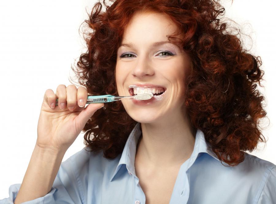 1. Bądź delikatny dla zębów