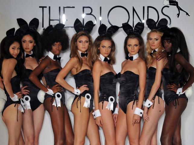 "Pokaz kolekcji ""The Blonds presented by Playboy"""