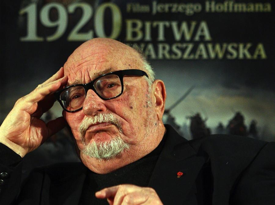 Jerzy Hoffman po pierwszym pokazie filmu \