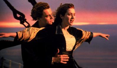 "Kate Winslet i Leonardo DiCaprio w ""Titanicu"""