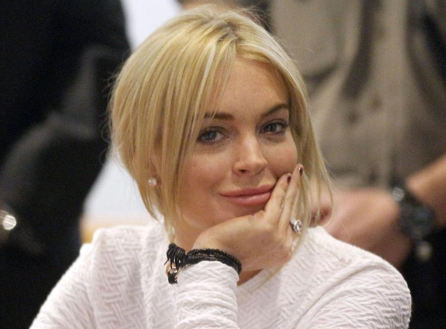 Lindsay Lohan w nieco lepszym wydaniu