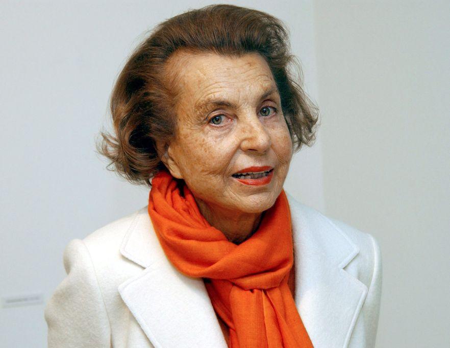 Liliane Bettencourt, współwłaścicielka L\'Oreal, ubezwłasnowolniona przez sąd